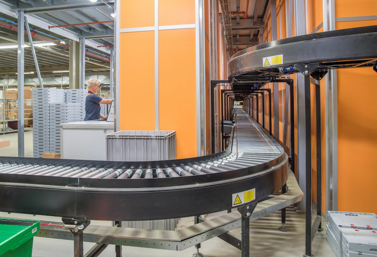 Conveyors Lalesse Logistic Solutions.
